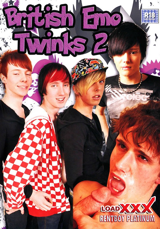 British Emo Twinks 2 DVD - Front