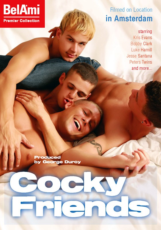 Cocky Friends DVD - Front