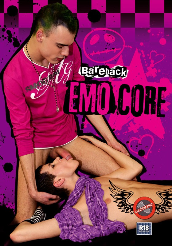 Bareback Emocore DVD - Front
