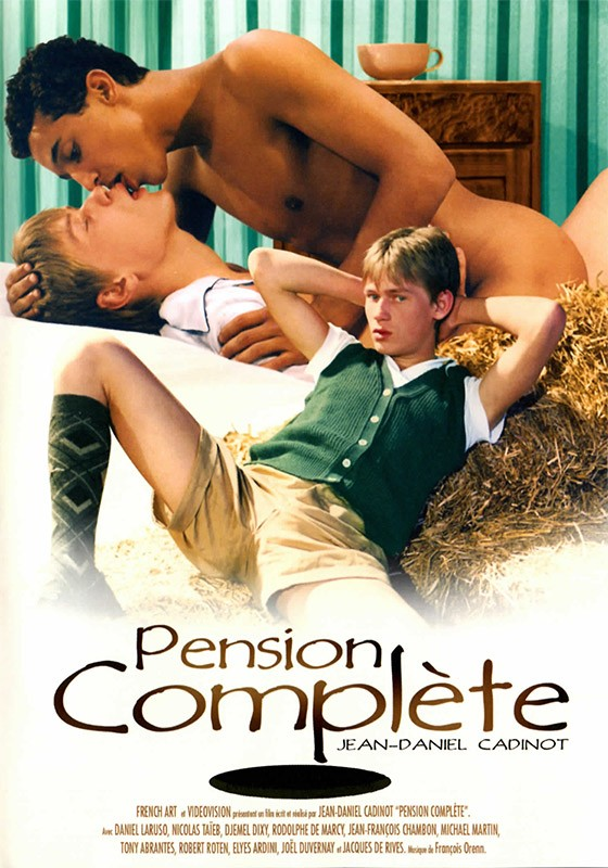 Pension Complète DVD - Front