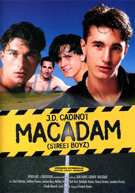 Macadam DVD - Front
