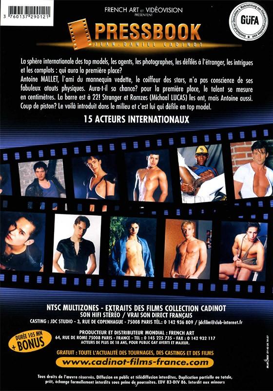 Pressbook DVD - Back