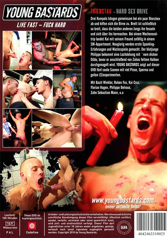 Triebstau (Young Bastards - Hard Sex Drive) DVD - Back