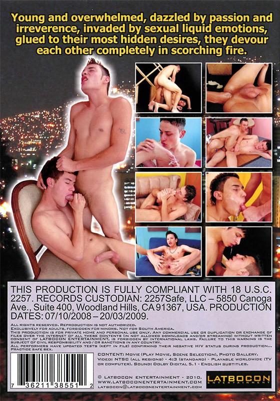 Libertine Boys DVD - Back