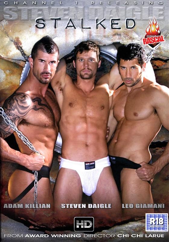 Steven Daigle Stalked DVD - Front