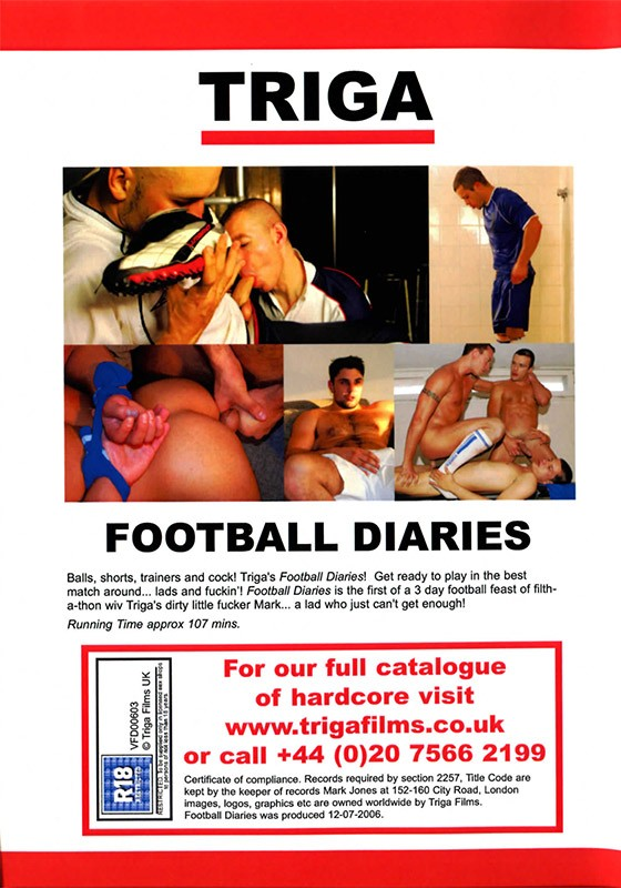 Football Diaries DVD - Back
