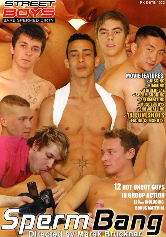 Sperm Bang DVD - Front