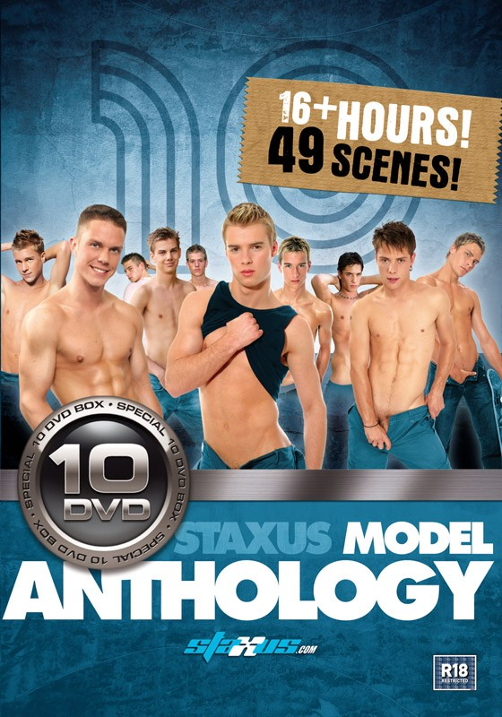 Staxus Model Anthology 10DVD Box Set - Front
