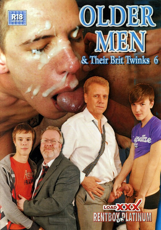 Older Men & Their Brit Twinks 6 DVD - Front