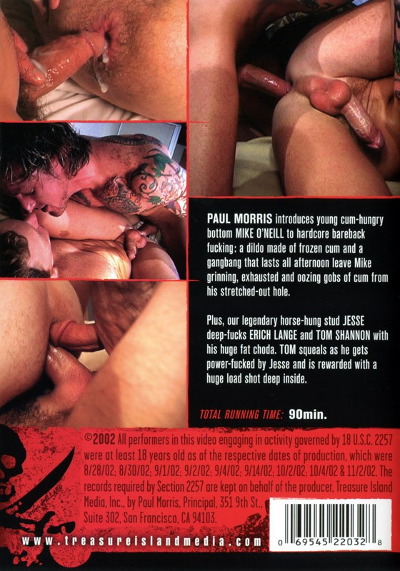 Breeding Mike O'Neill DVD - Back