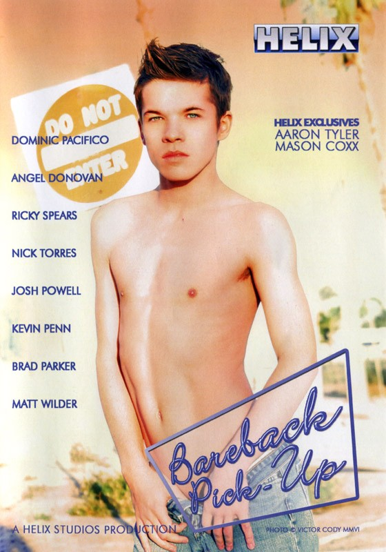 Bareback Pick-Up DVD - Front