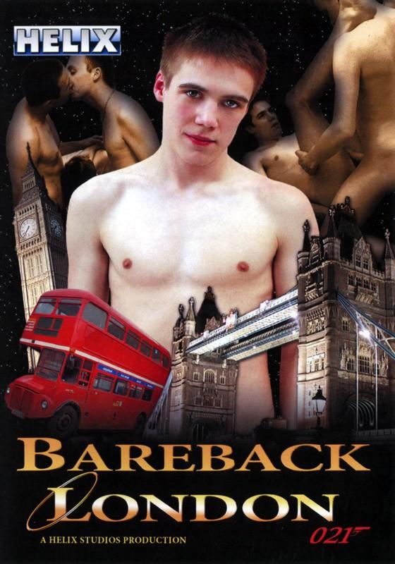 Bareback London DVD - Front