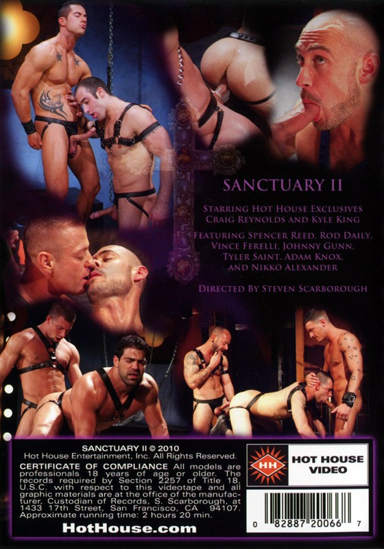 Sanctuary II DVD - Back