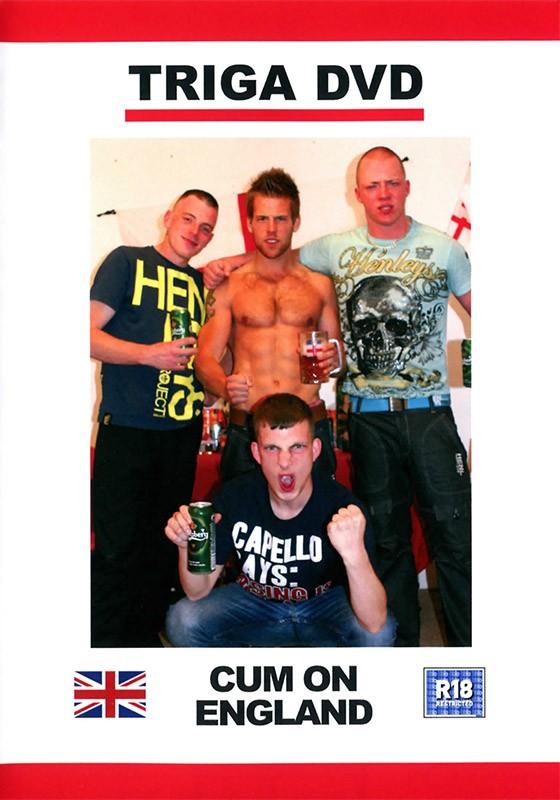 Cum on England DVD - Front