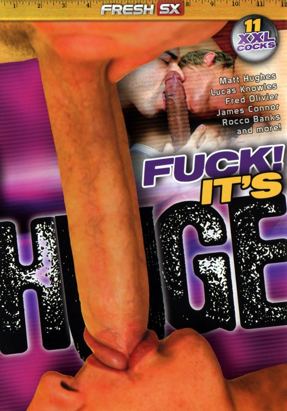 Fuck! It's Huge DVD - Front