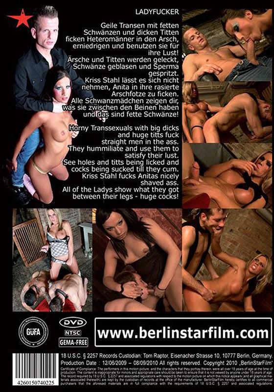 Ladyfucker DVD - Back