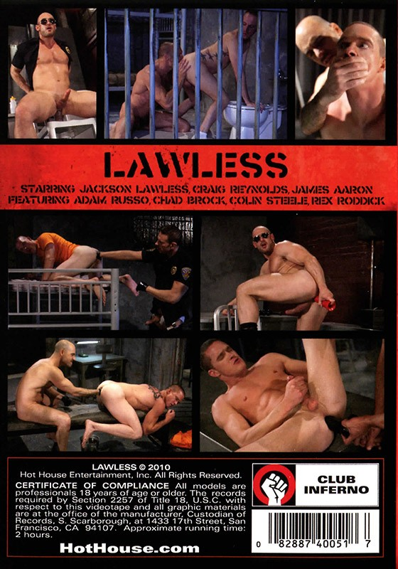 Lawless DVD - Back
