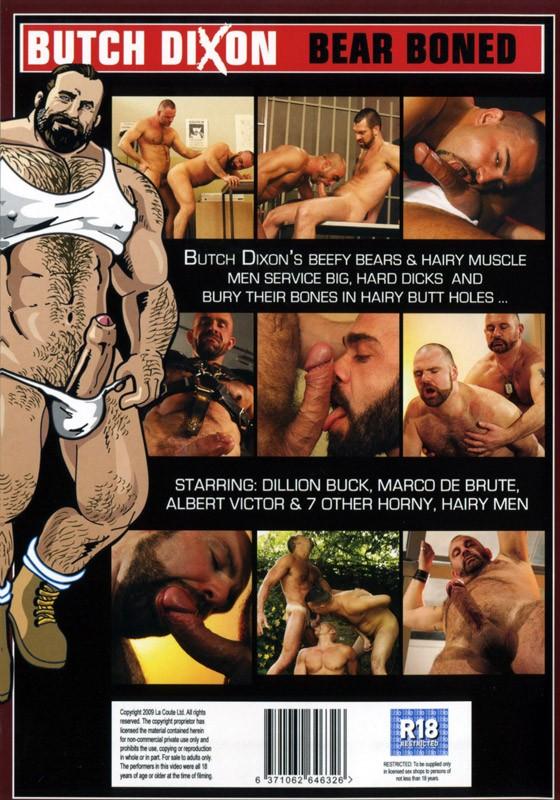 Bear Boned DVD - Back