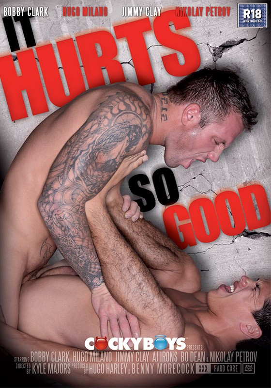 It Hurts So Good DVD - Front