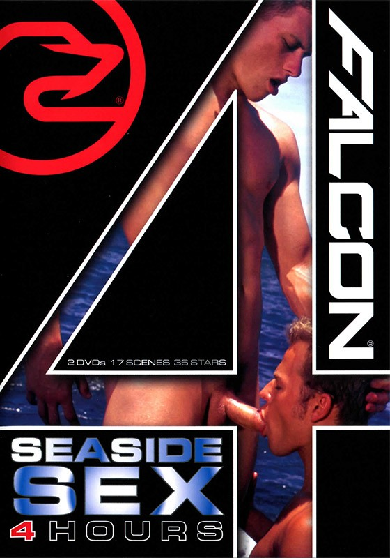 Falcon 4 Hours: Seaside Sex DVD - Front
