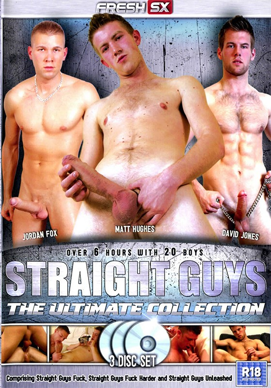 Straight Guys: The Ultimate Collection DVD - Front