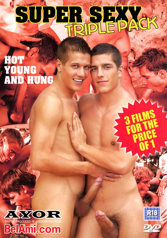 Super Sexy Triple Pack DVD - Front