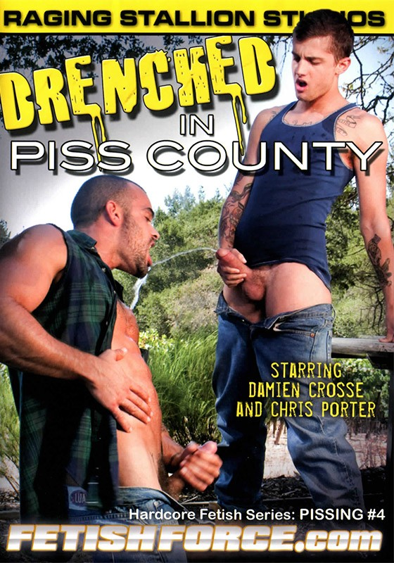 Drenched in Piss County DVD - Front