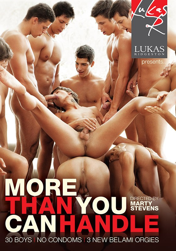 More Than You Can Handle DVD - Front