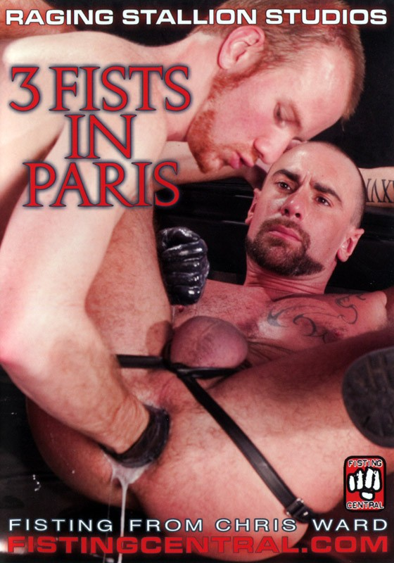 3 Fists in Paris DVD - Front