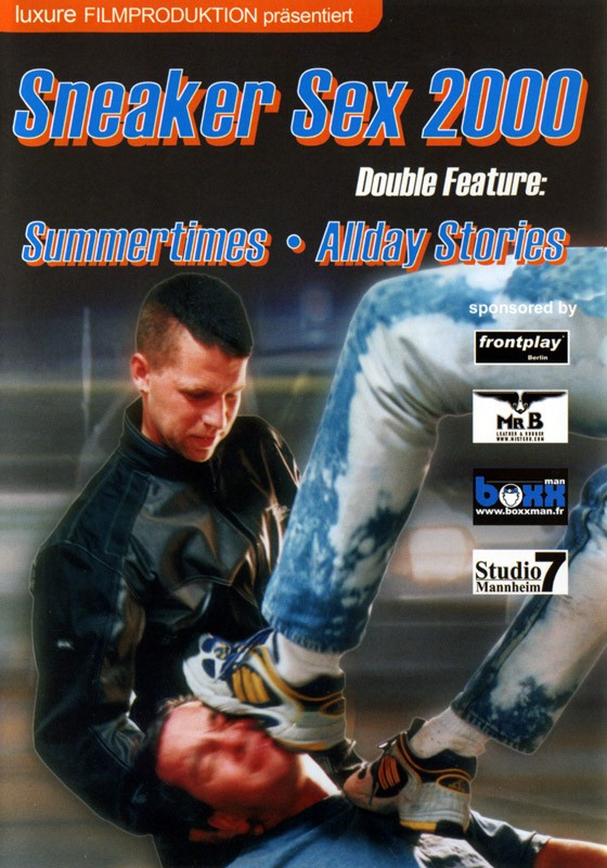 Sneaker Sex III: Sneaker Sex 2000 DVD - Front