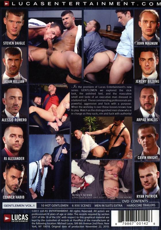 Men in Suits DVD - Back