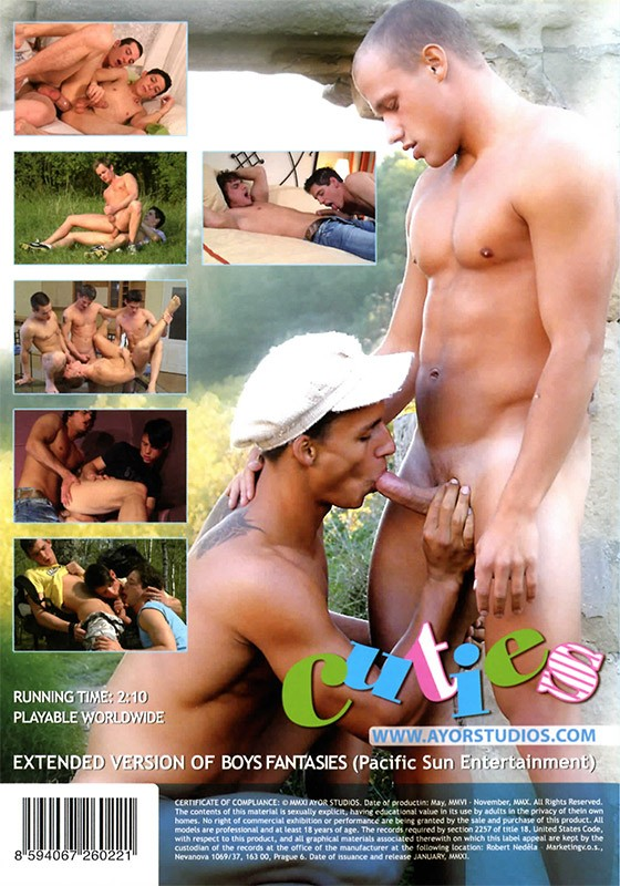 Cuties DVD - Back