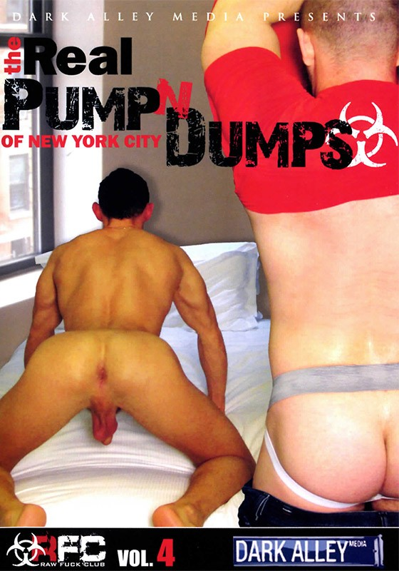 The Real Pump N' Dumps of New York City DVD - Front