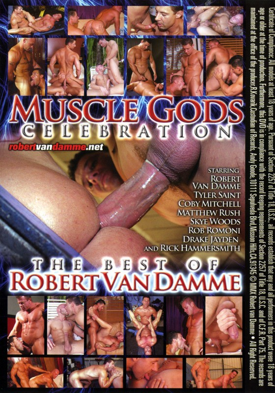Muscle Gods Celebration DVD - Back