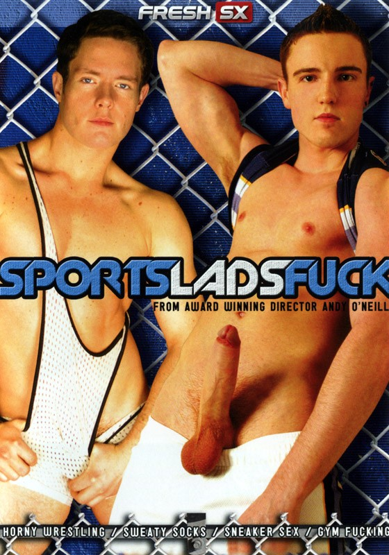 Sport Lads Fuck DVD - Front