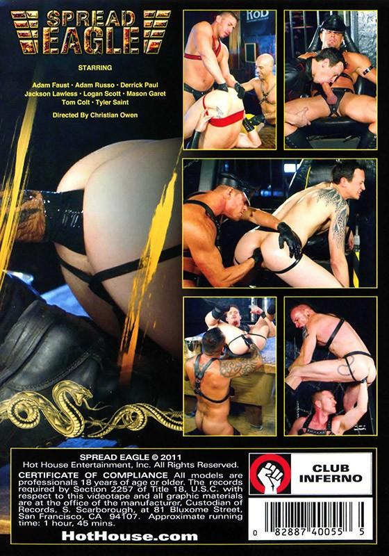 Spread Eagle DVD - Back