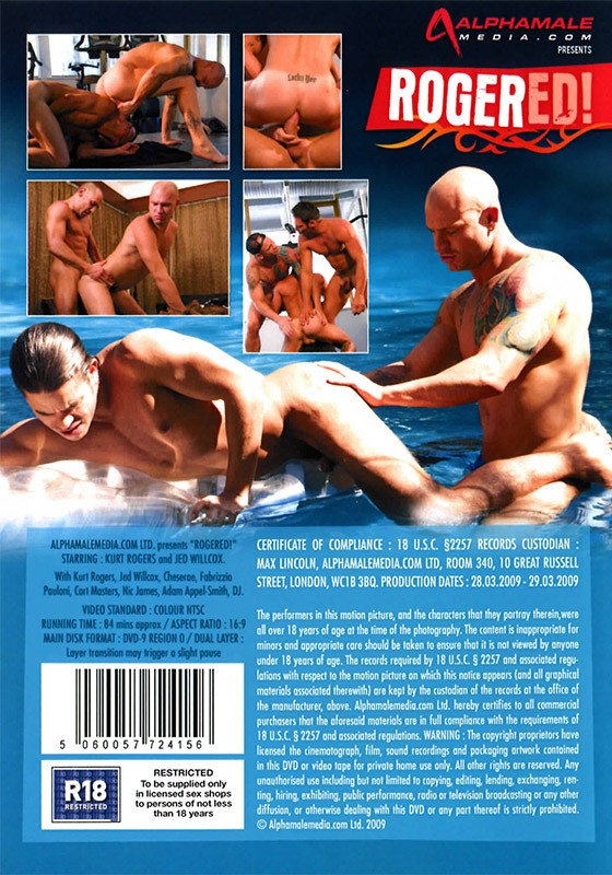 Rogered! DVD - Back