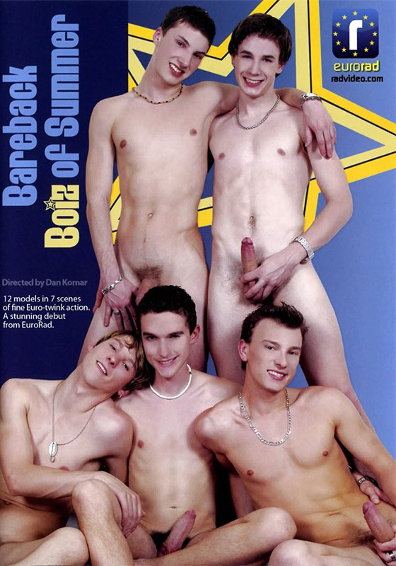 Bareback Boiz of Summer DVD - Front