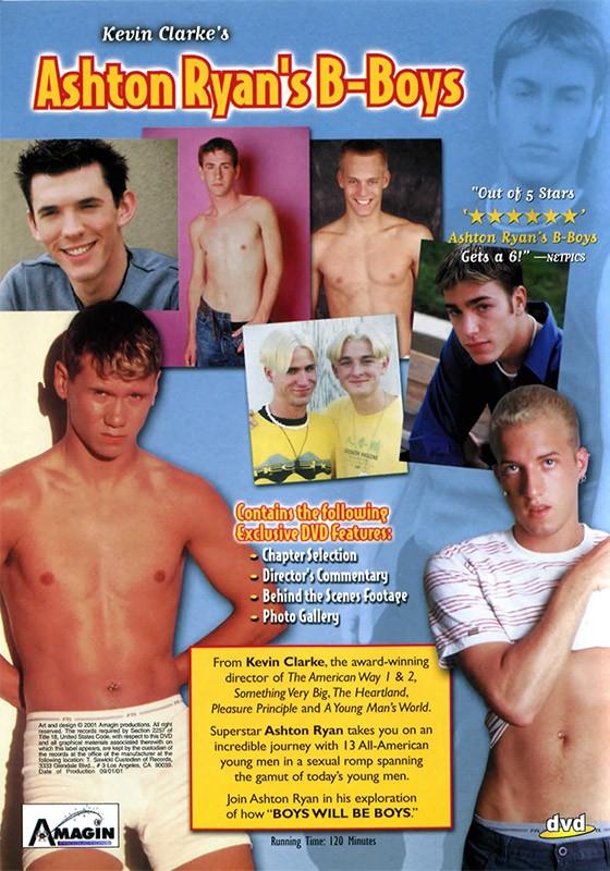 Ashton Ryan's B-boys DVD - Back
