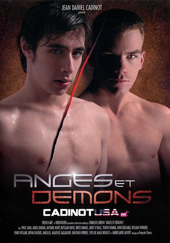 Anges et Demons DVD - Front