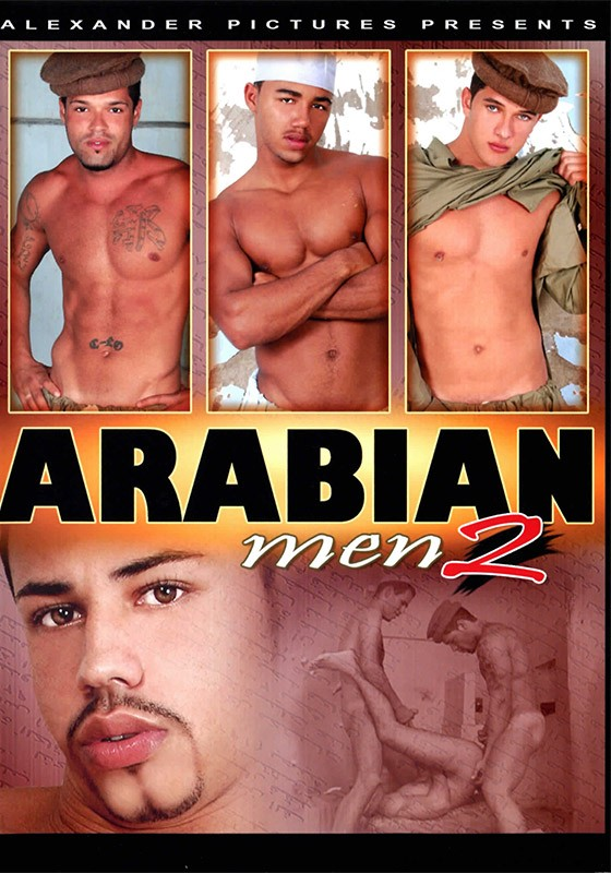 Arabian Men 2 DVD - Front