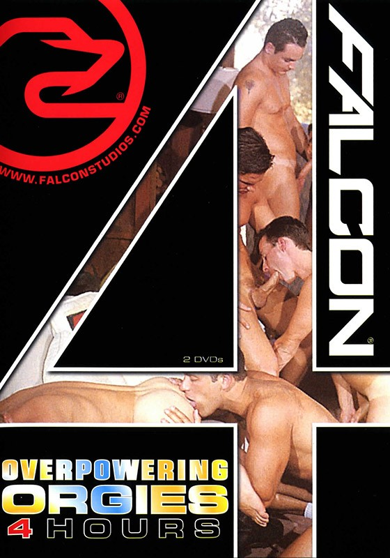 Falcon 4 Hours: Overpowering Orgies DVD - Front
