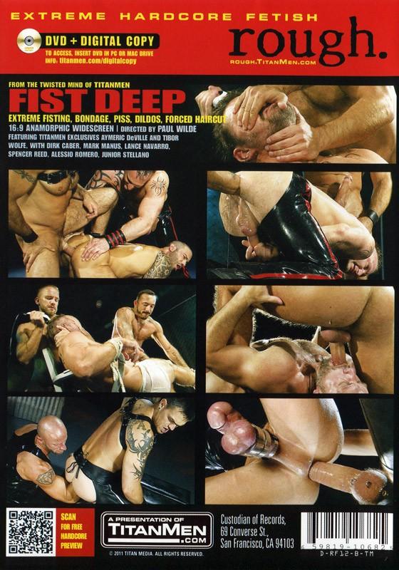 Fist Deep DVD - Back
