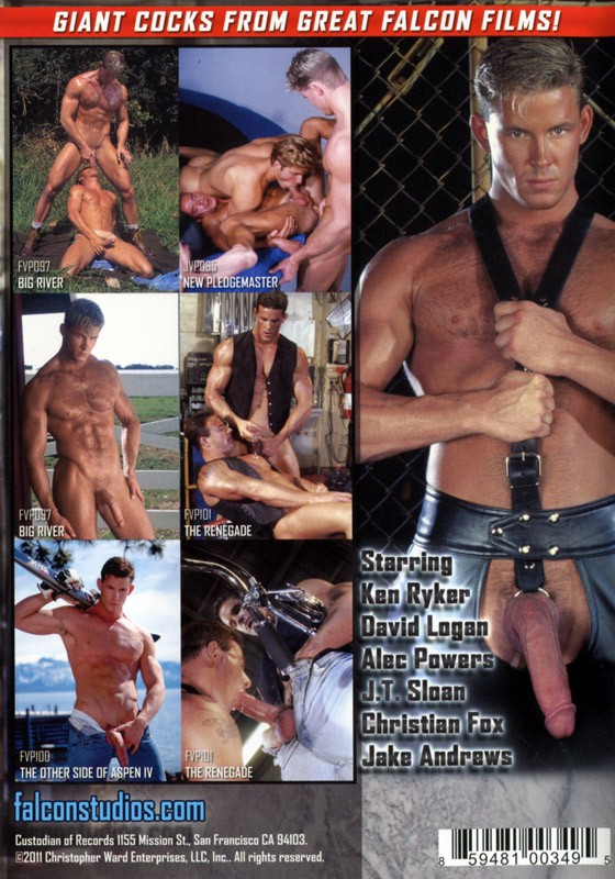 My Big Fucking Dick: Ken Ryker DVD - Back