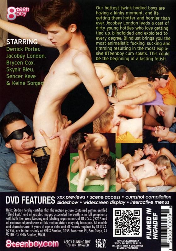 Blindlust DVD - Back