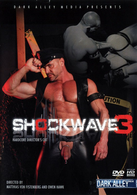 Shockwave 3: Hardcore Director's Cut DVD - Front