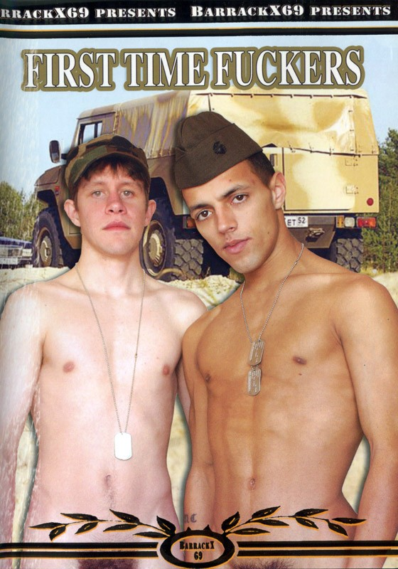 First Time Fuckers DVD - Front