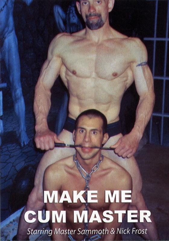 Make Me Cum Master DVD - Front