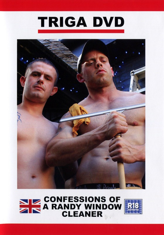 Confessions Of A Randy Window Cleaner DVD - Front