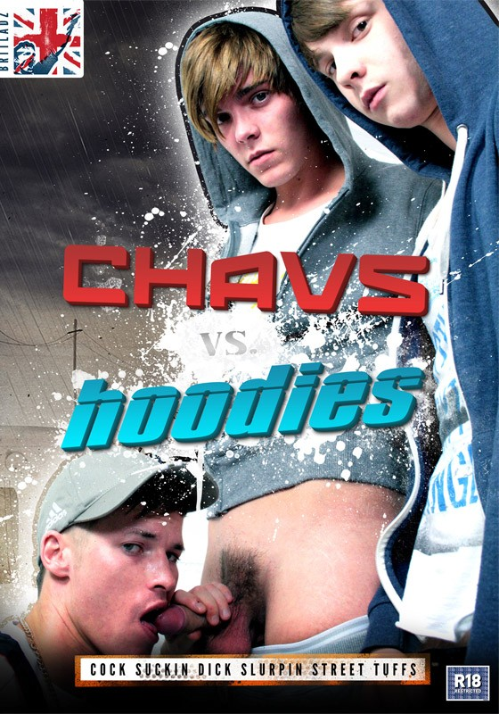 Chavs vs Hoodies DVD - Front